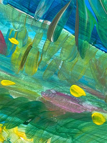 amabamaba Amaia Aguirre pintura abstracta