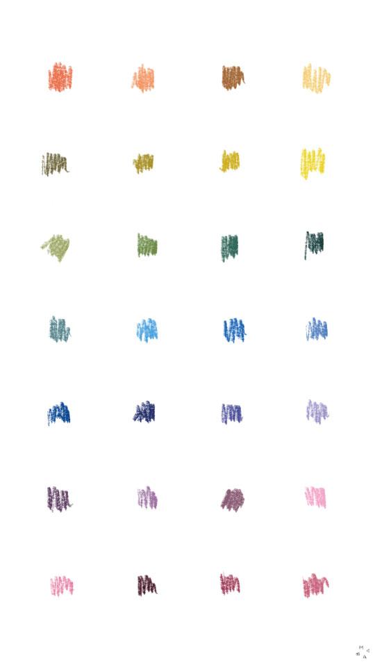 garabatos multicolores